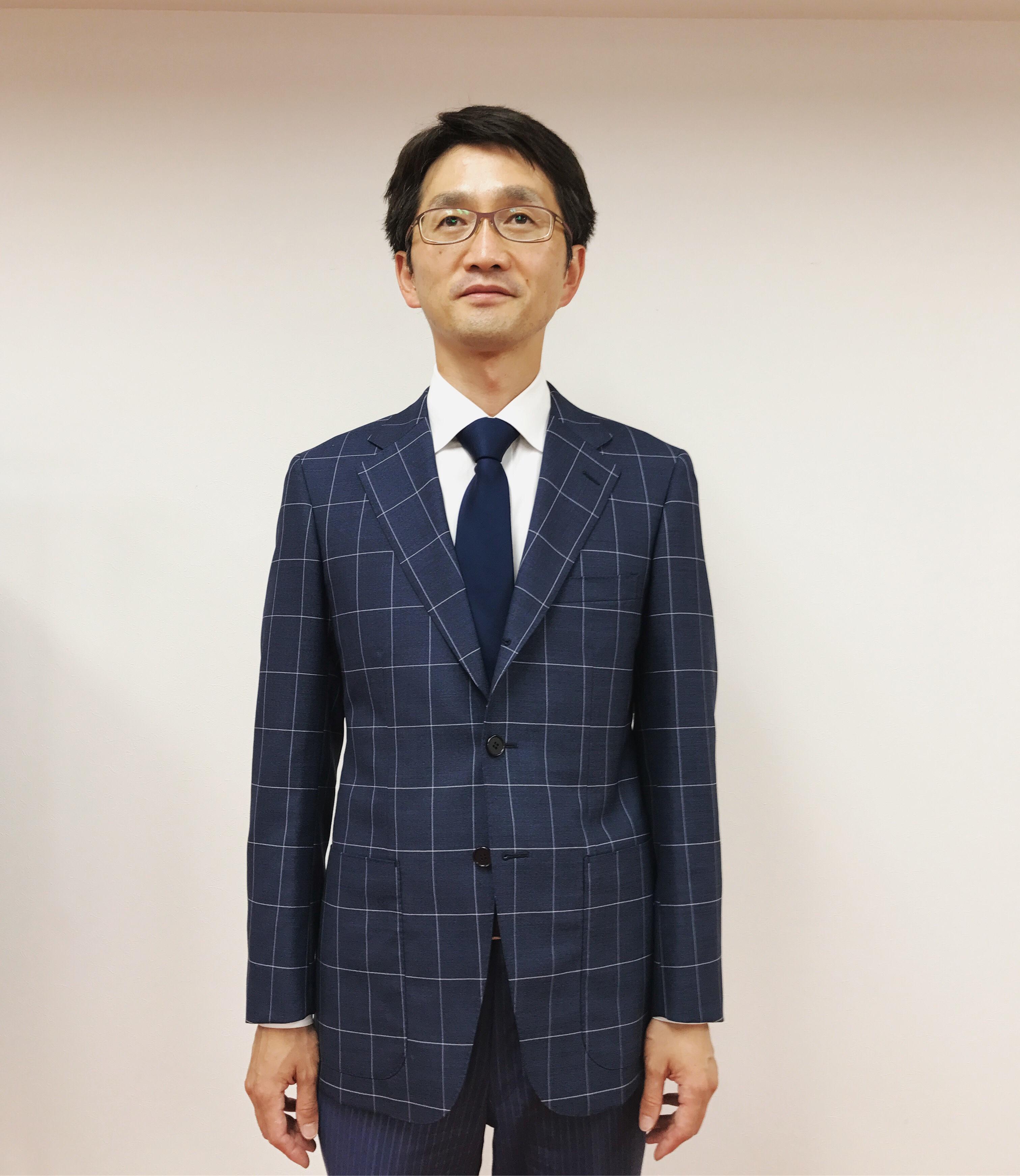 弁護士のジャケット選び